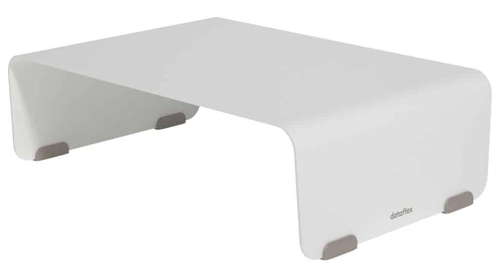 Supporto per Monitor Regolabile Argento 37 x 23 x 14cm
